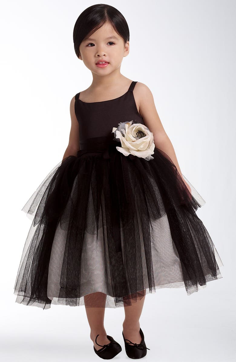 US ANGELS Tulle Ballerina Dress, Main, color, 001