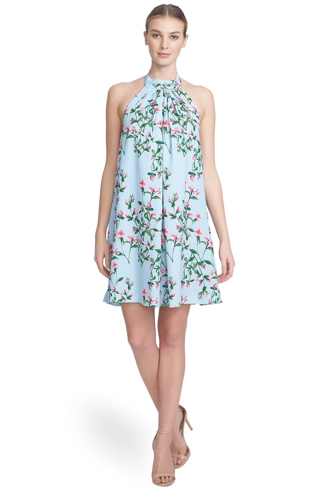,                             'Monte Petal Trellis' Halter Swing Dress,                             Alternate thumbnail 2, color,                             461