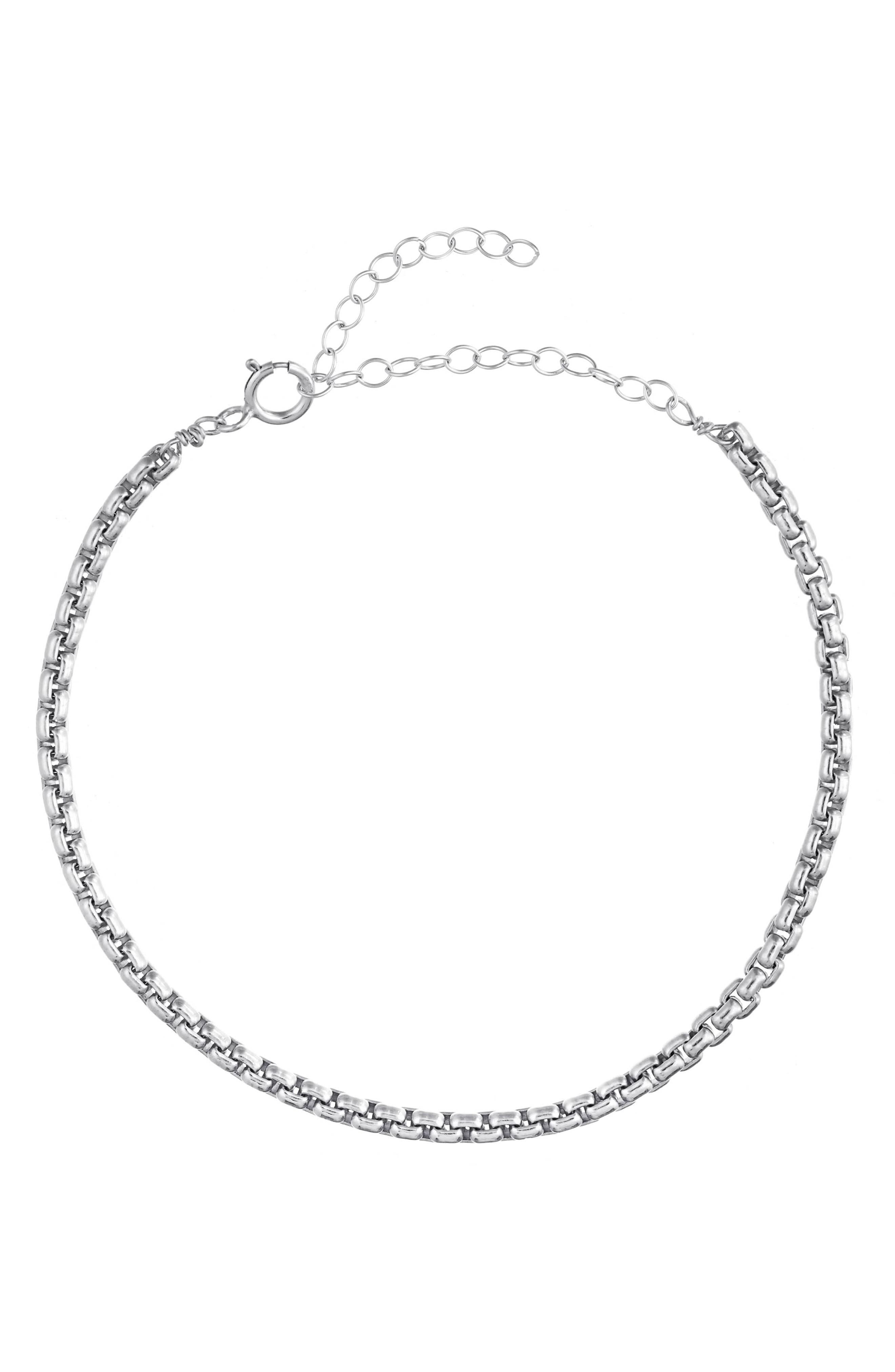 Cam Box Chain Bracelet