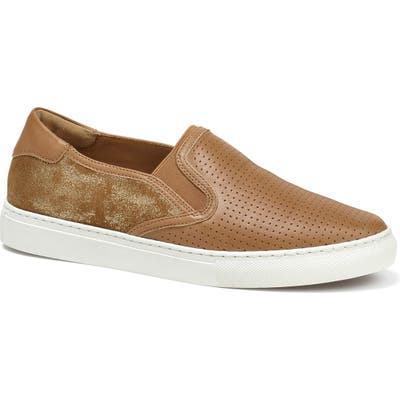 Trask Lillian Water Resistant Slip-On Sneaker- Brown