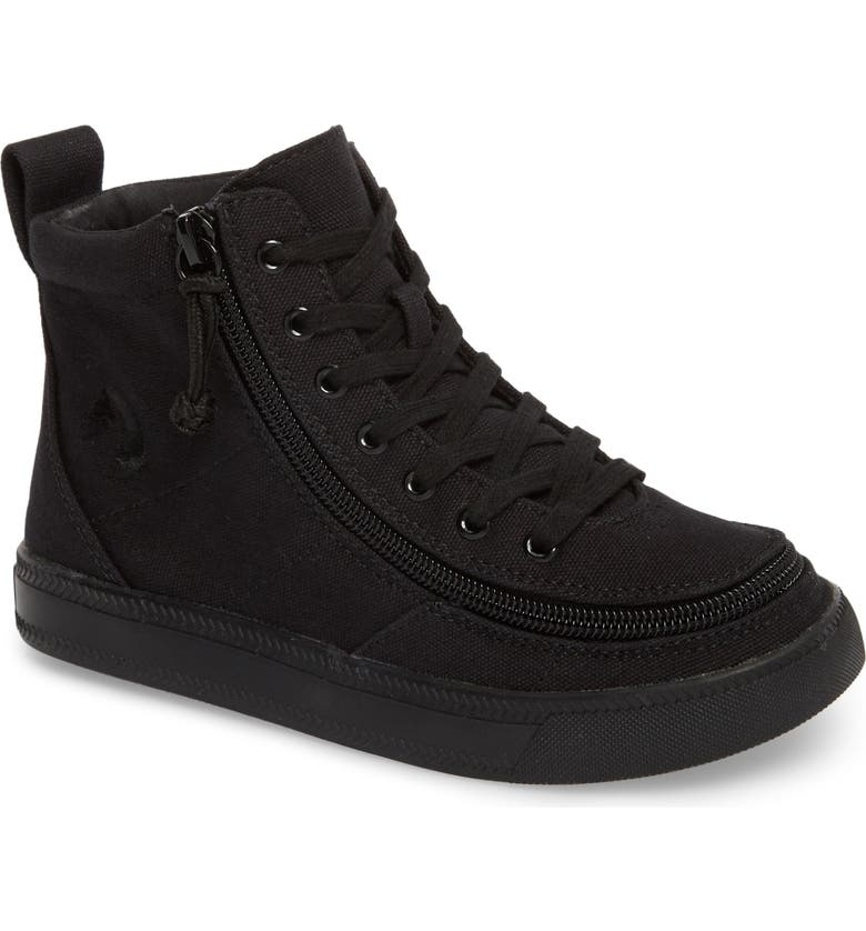 BILLY FOOTWEAR Classic Hi-Rise Sneaker, Main, color, BLACK TO THE FLOOR