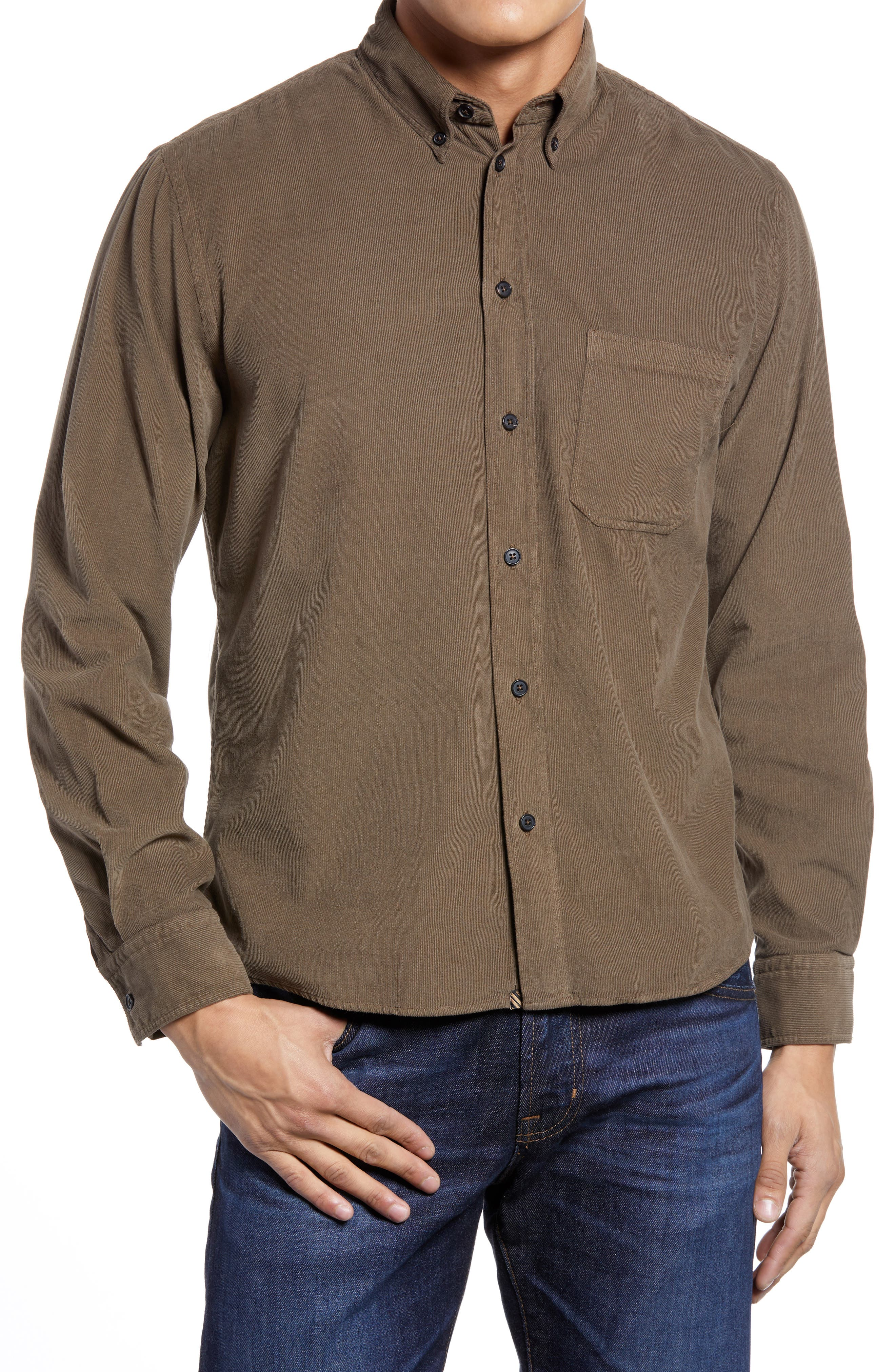 Tuscumbia Corduroy Button-Down Shirt