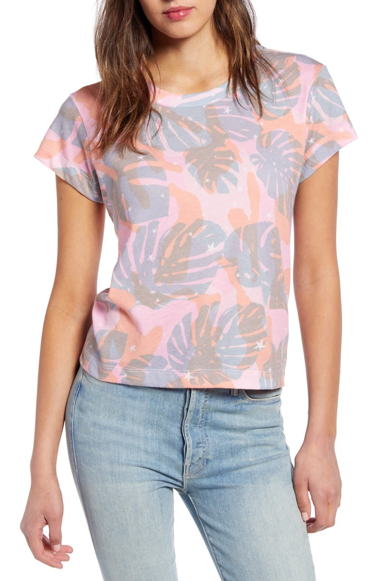 WILDFOX No9 Tropic Camo Tee, Main, color, 650