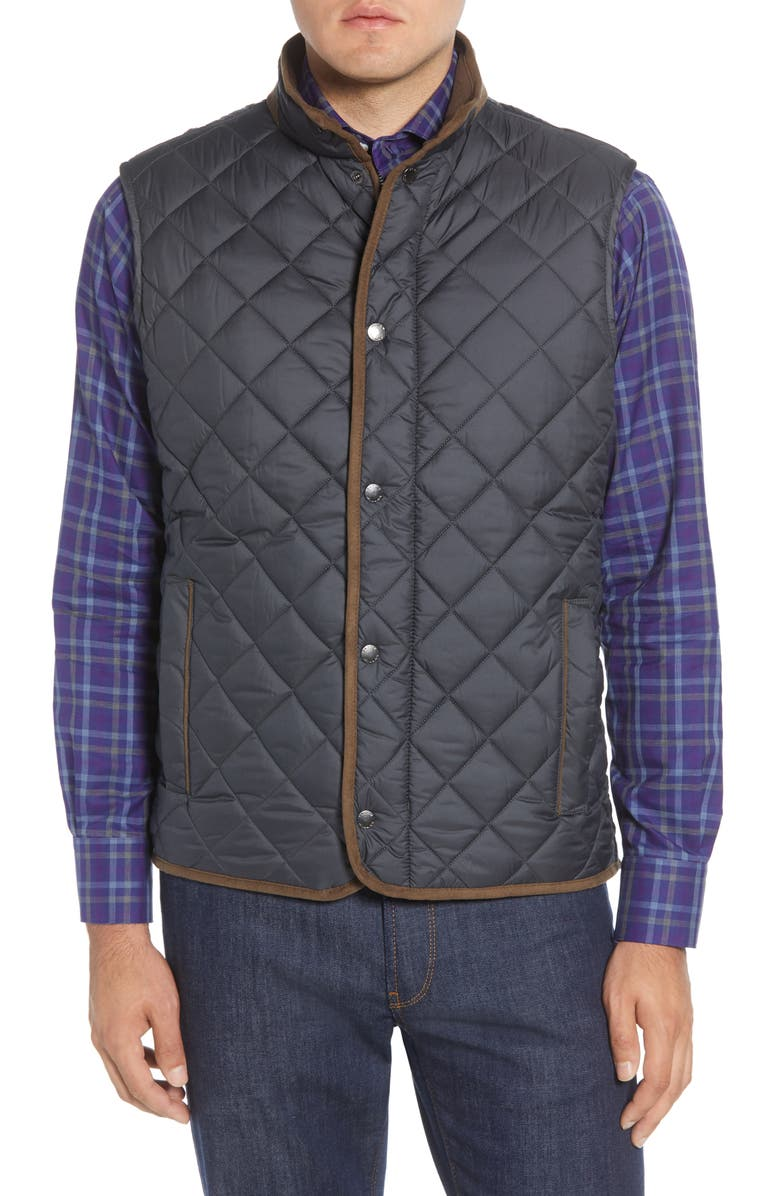 PETER MILLAR Essex Quilted Vest, Main, color, 001