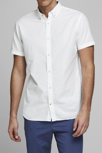 Image of JACK & JONES Short Sleeve Slim Fit Shirt