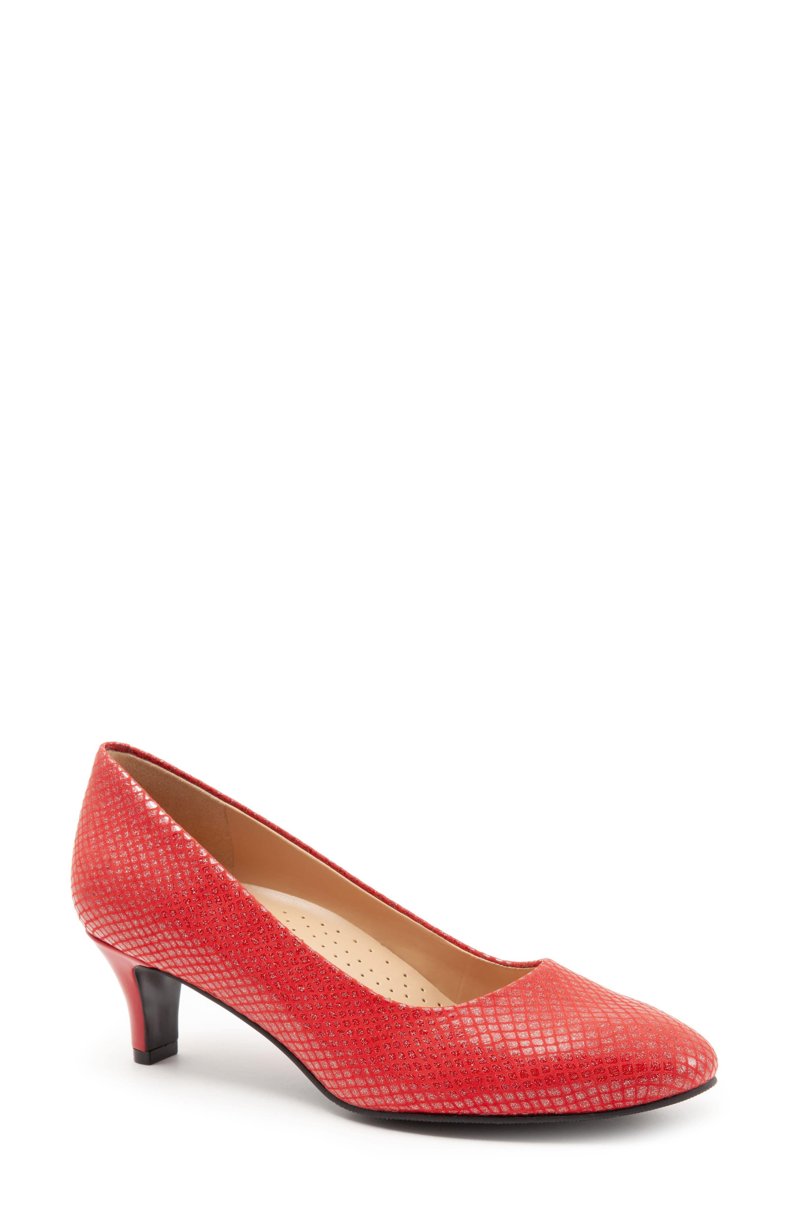 Trotters Fab Pump- Red