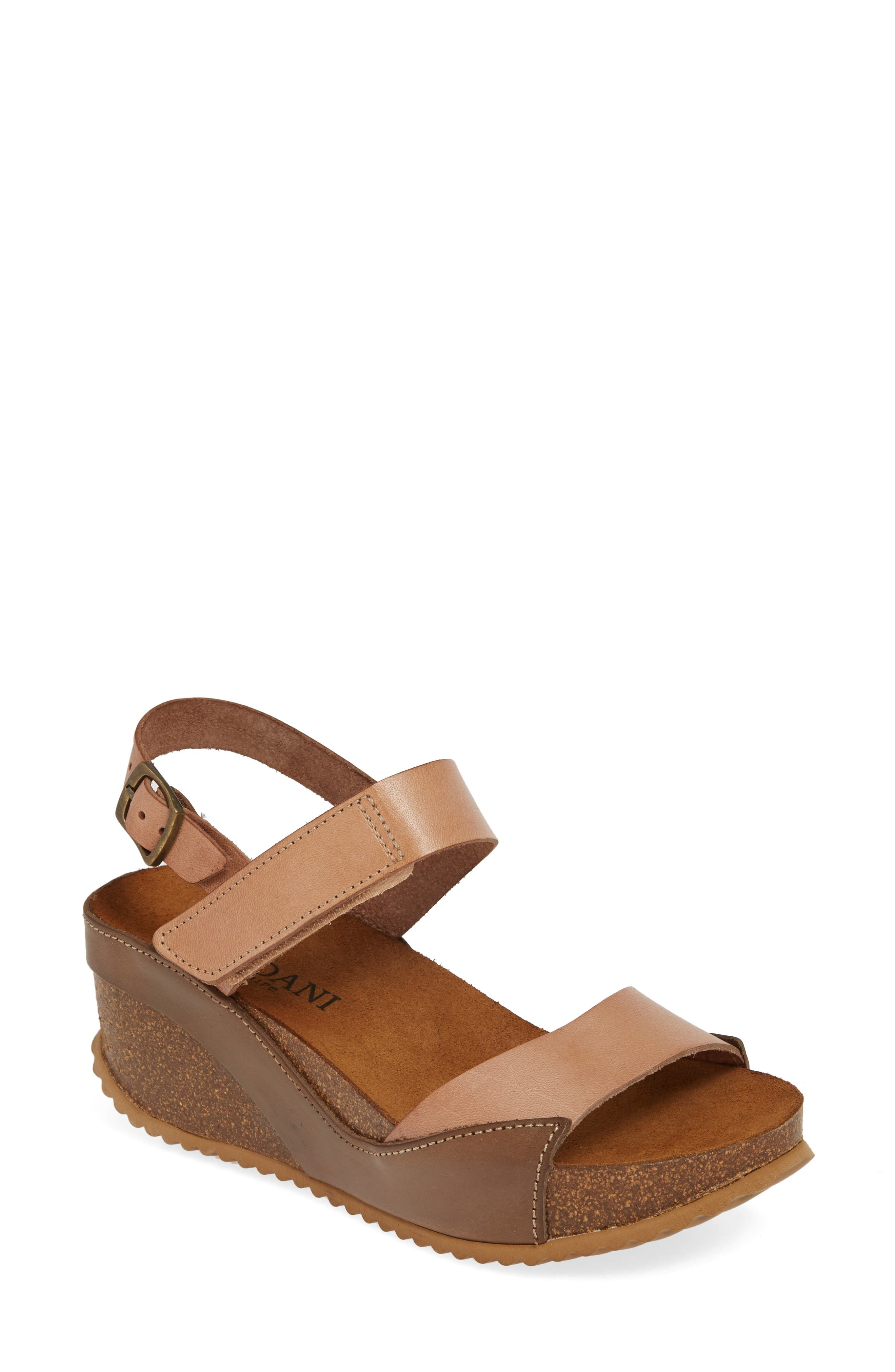 Cordani Marcelle Wedge Sandal, Brown
