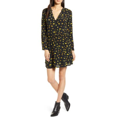 Rails Jasmine Long Sleeve Dress, Yellow