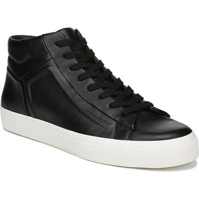 Vince Fynn High Top Sneaker, Black