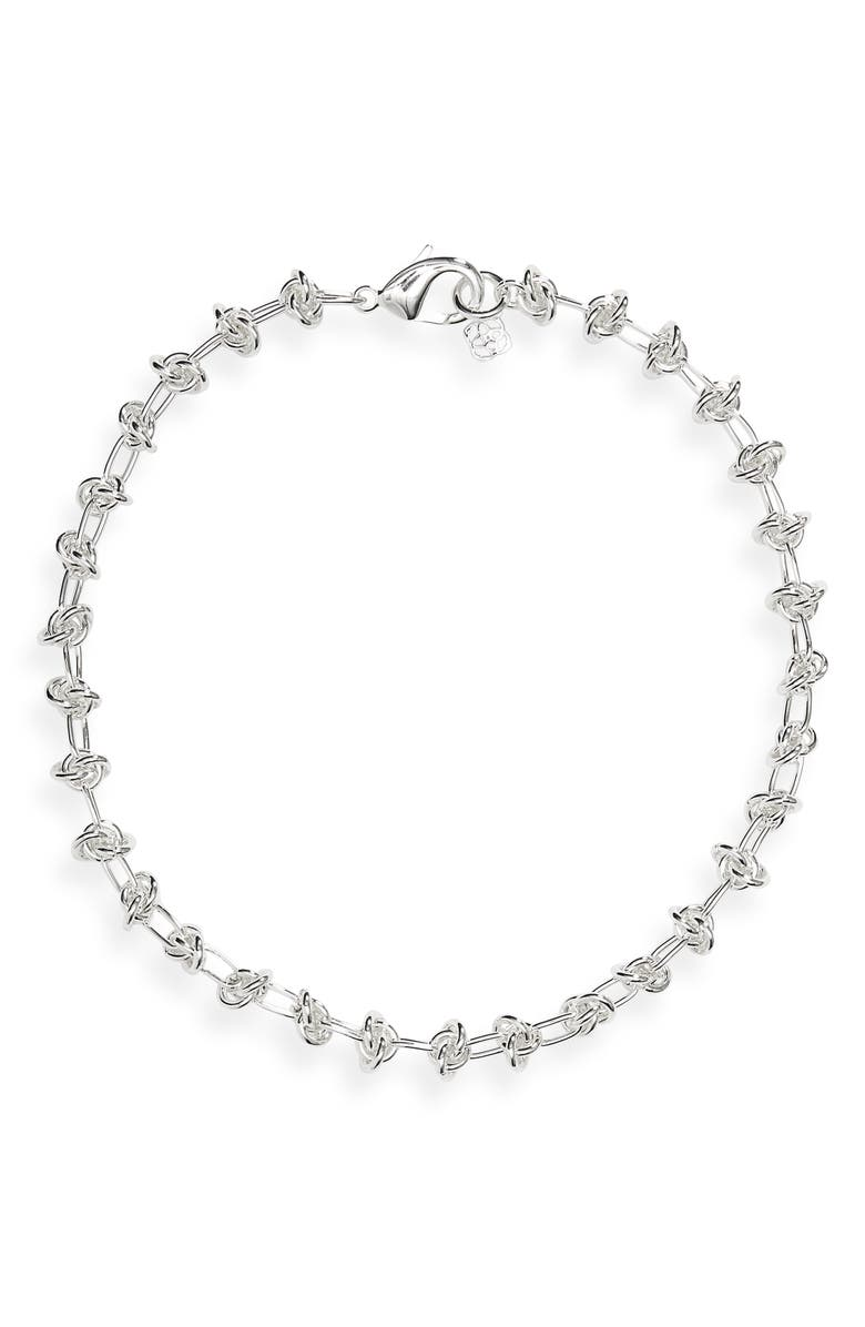 KENDRA SCOTT Presleigh Collar Necklace, Main, color, SILVER