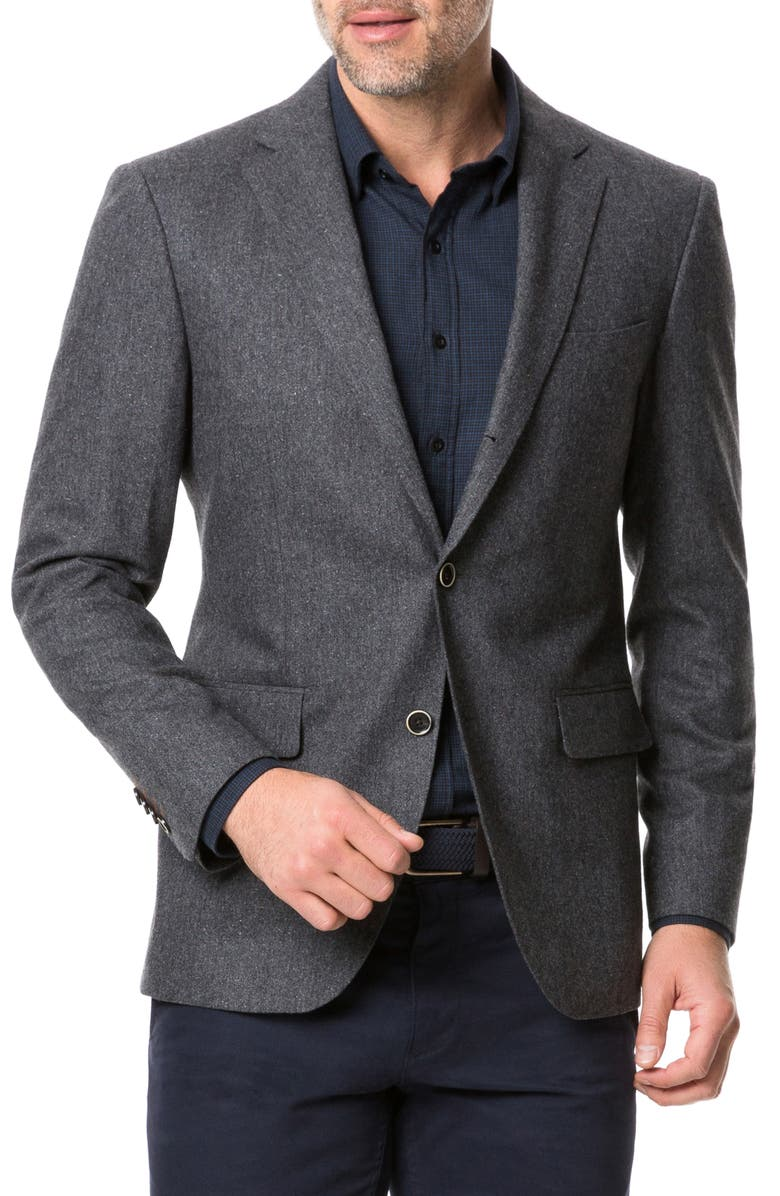 RODD & GUNN Gladfield Regular Fit Sport Coat, Main, color, CHARCOAL
