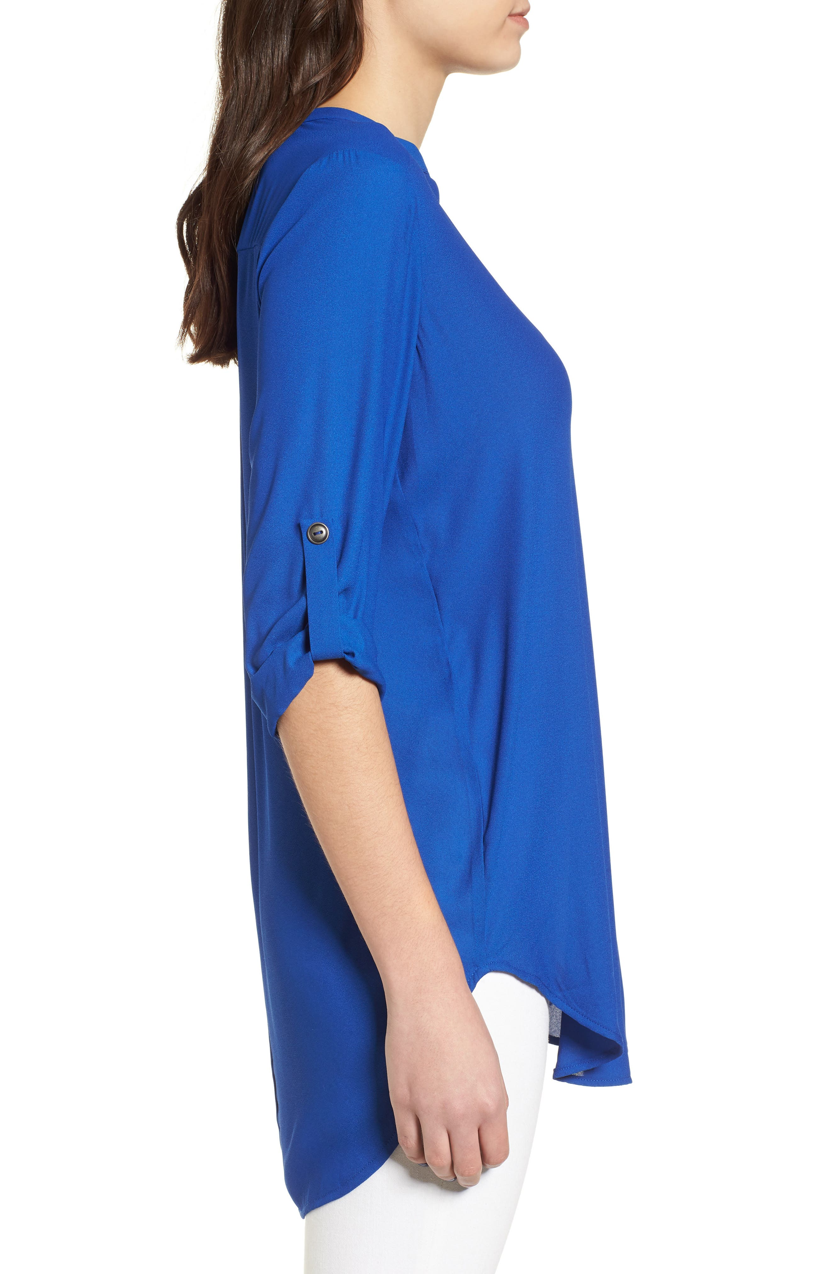 ,                             Perfect Roll Tab Sleeve Tunic,                             Alternate thumbnail 111, color,                             462