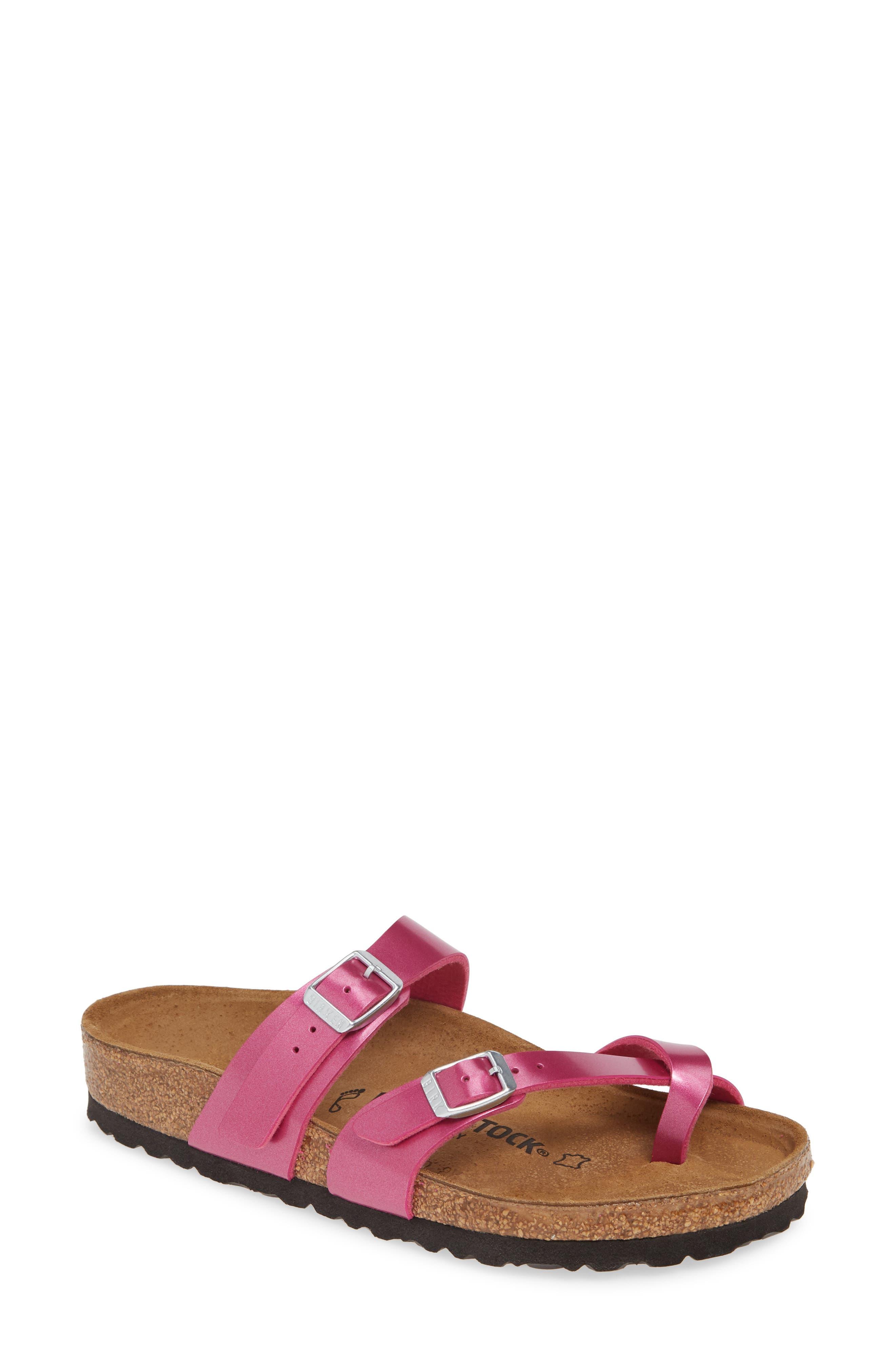 Birkenstock Mayari Slide Sandal, Pink