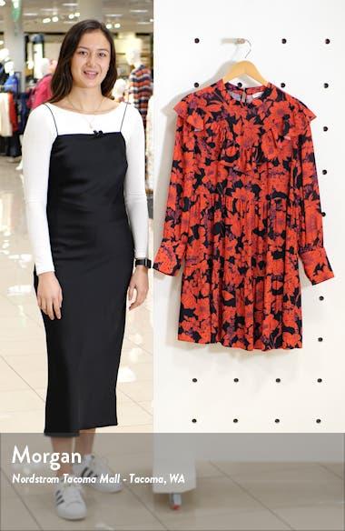 Margaret Ruffle Long Sleeve Dress, sales video thumbnail