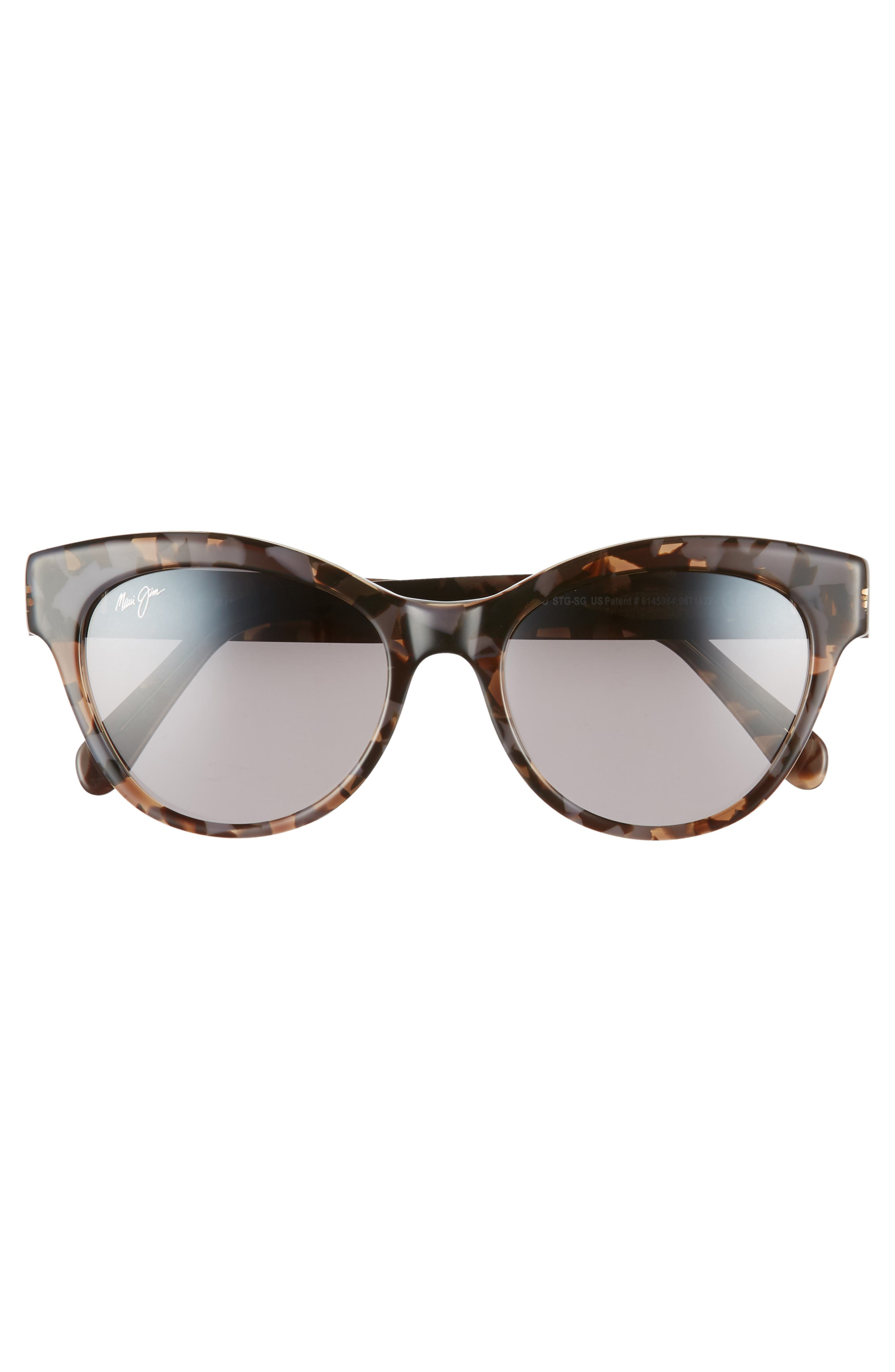 ,                             Ku'uipo 51mm Polarized Cat Eye Sunglasses,                             Alternate thumbnail 3, color,                             DOVE GREY