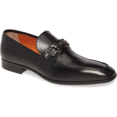 Santoni Ivo Bit Loafer - Black