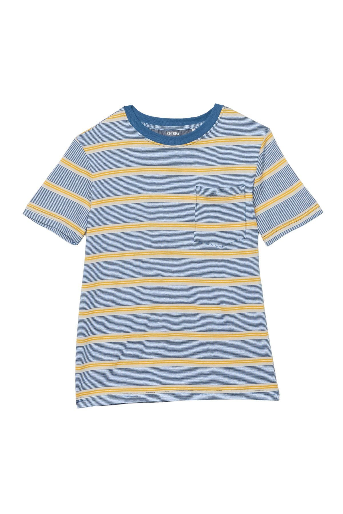 Image of Sovereign Code Assembly Stripe Print T-Shirt