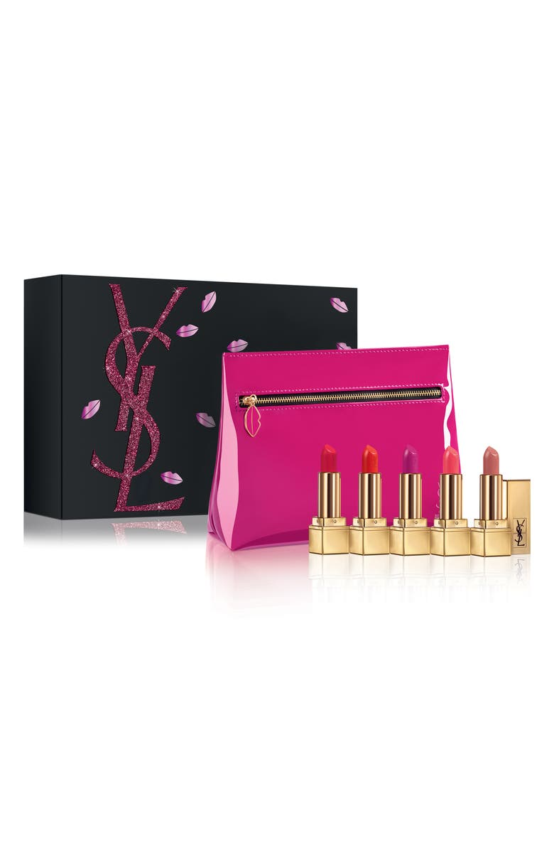 YVES SAINT LAURENT Mini Rouge Pur Couture Lipstick Set, Main, color, 000