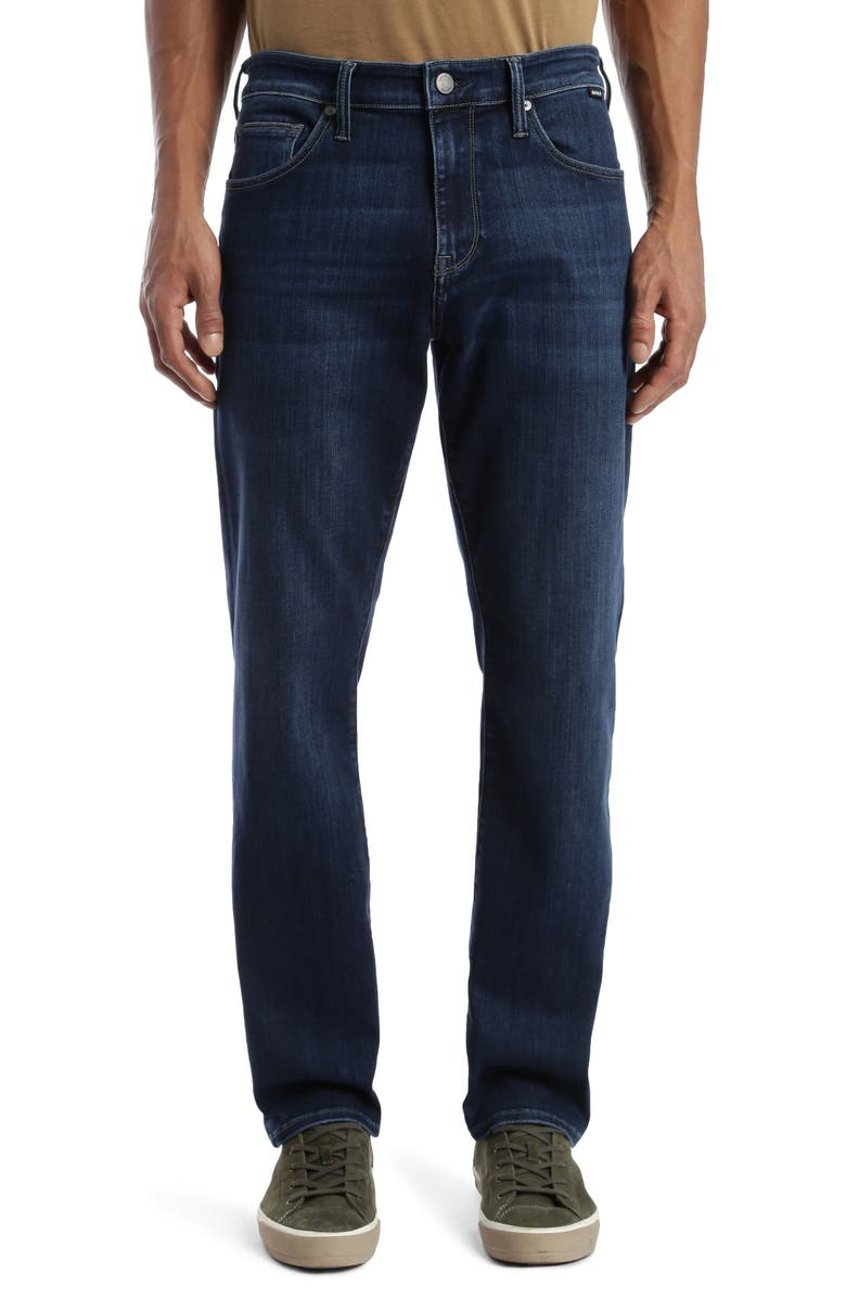 MAVI JEANS Matt Relaxed Fit Jeans, Main, color, MATT DARK BLUE SUPERMOVE