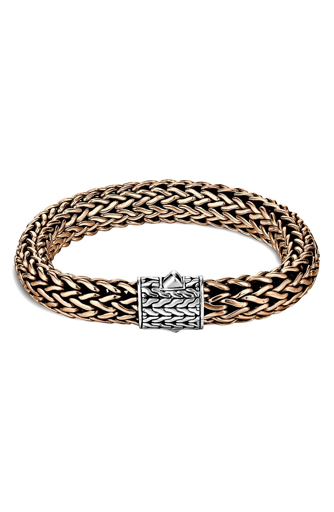 Image of JOHN HARDY Men's Sterling Silver Classic Chain Large Chain Bracelet