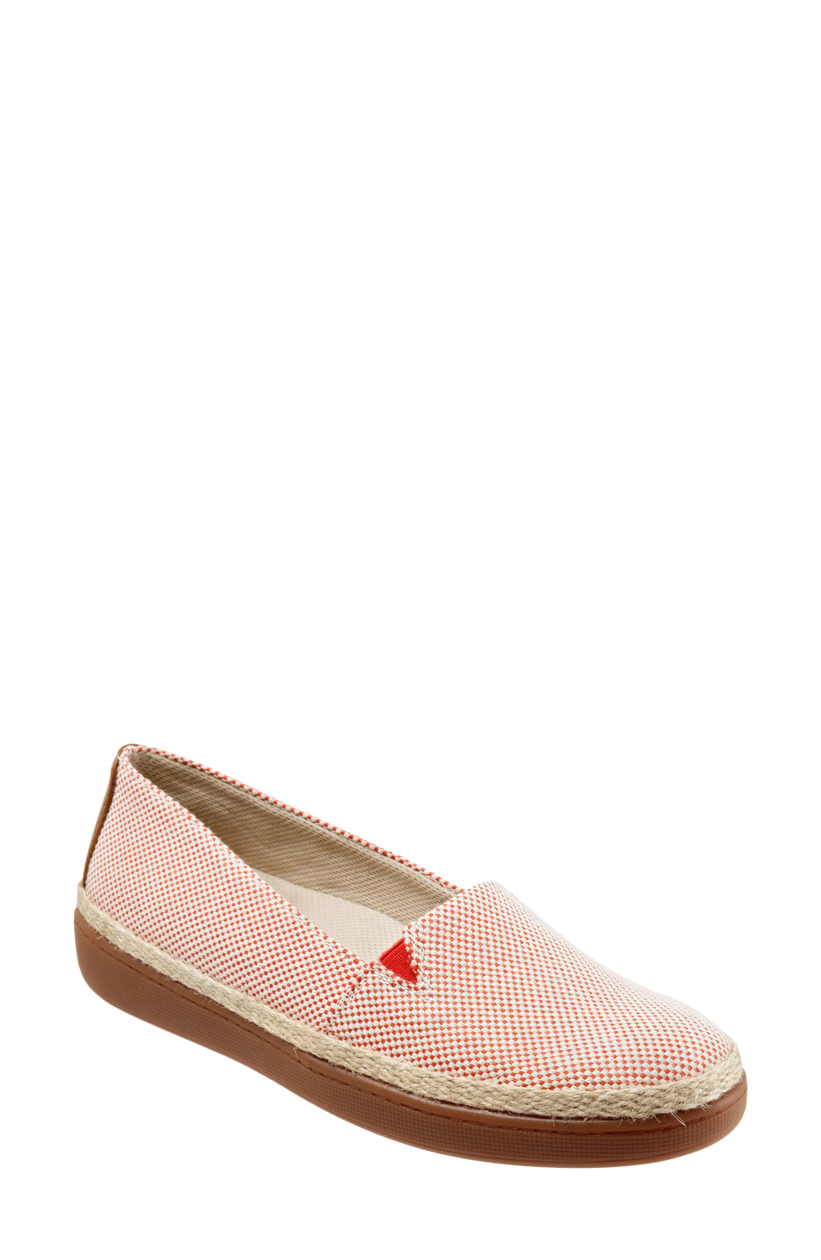 Trotters Accent Slip-On, Red