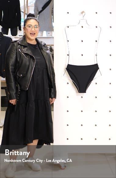 Fine Line Ribbed High Leg Bikini Bottoms, sales video thumbnail