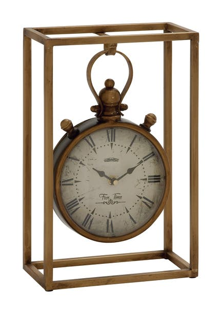 Image of Willow Row Metal Table Clock