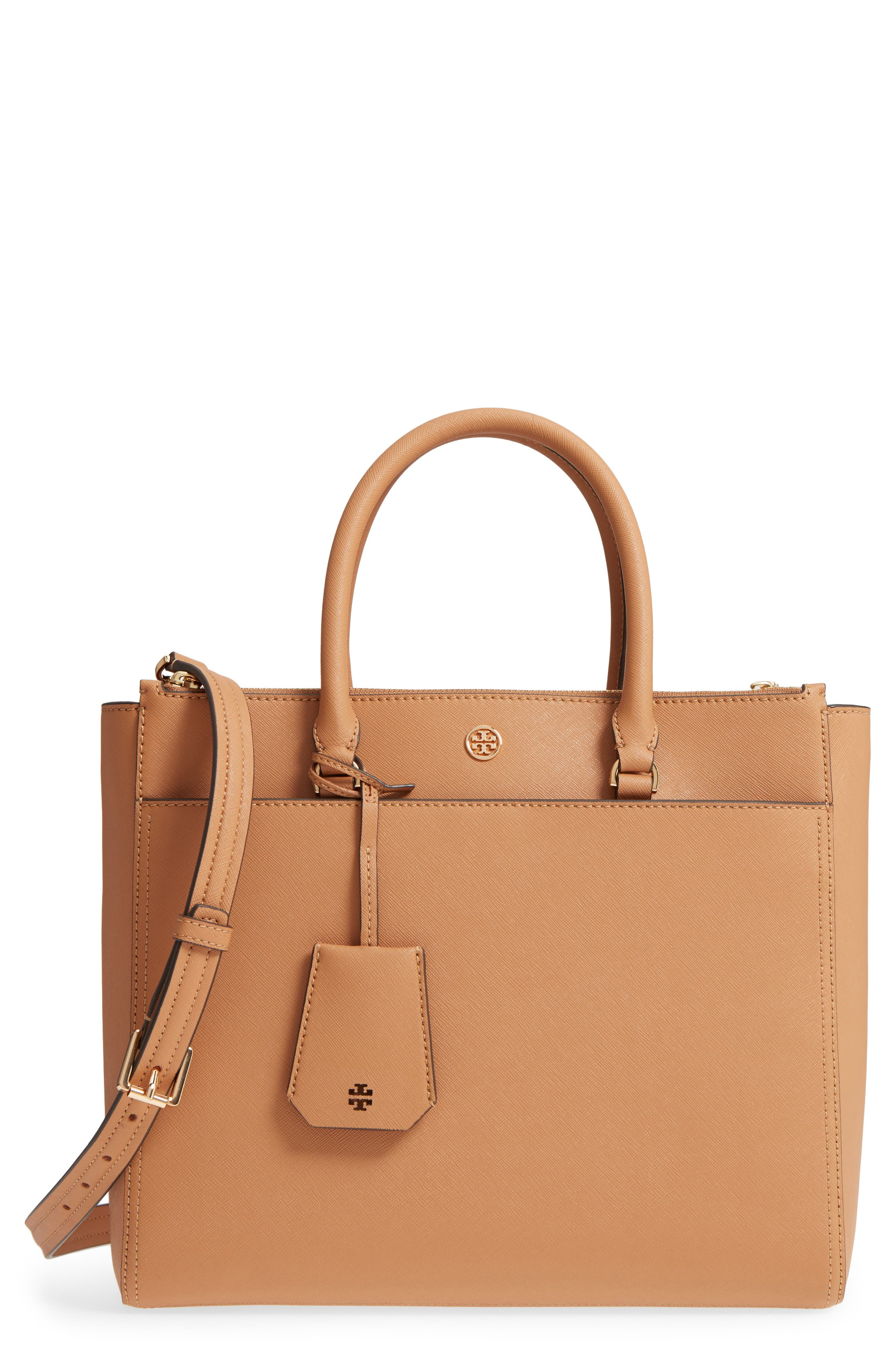 ,                             Robinson Double-Zip Leather Tote,                             Main thumbnail 8, color,                             243