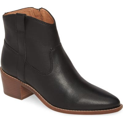 Madewell The Hailie Western Boot- Black