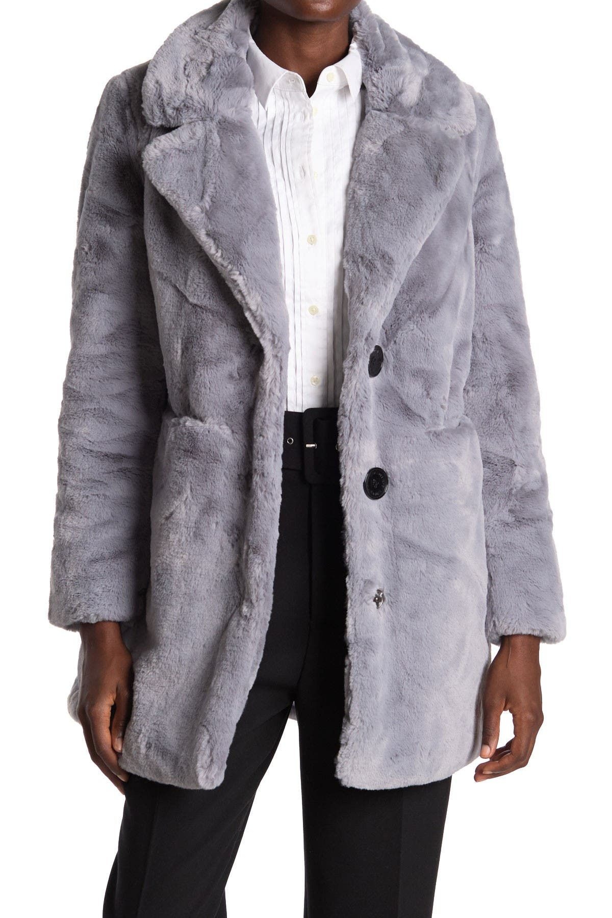 Image of Sam Edelman Faux Fur Coat