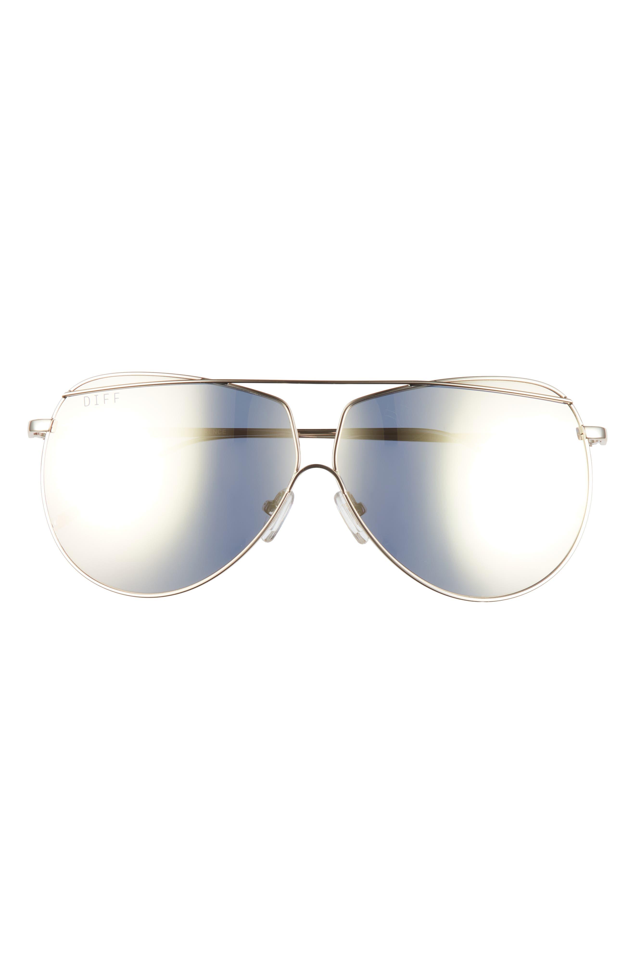 Maeve 65mm Oversize Aviator Sunglasses