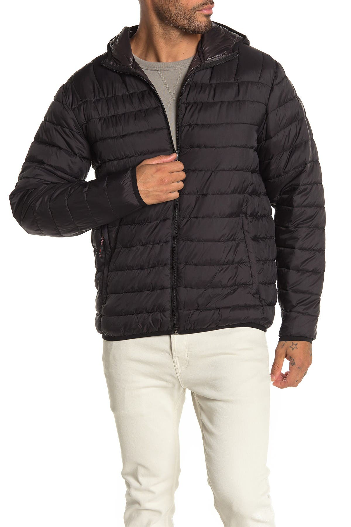 Image of Hawke & Co. Hooded Packable Down Jacket