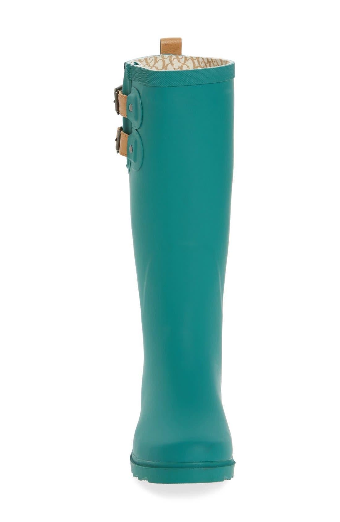 ,                             'Top Solid' Rain Boot,                             Alternate thumbnail 33, color,                             309