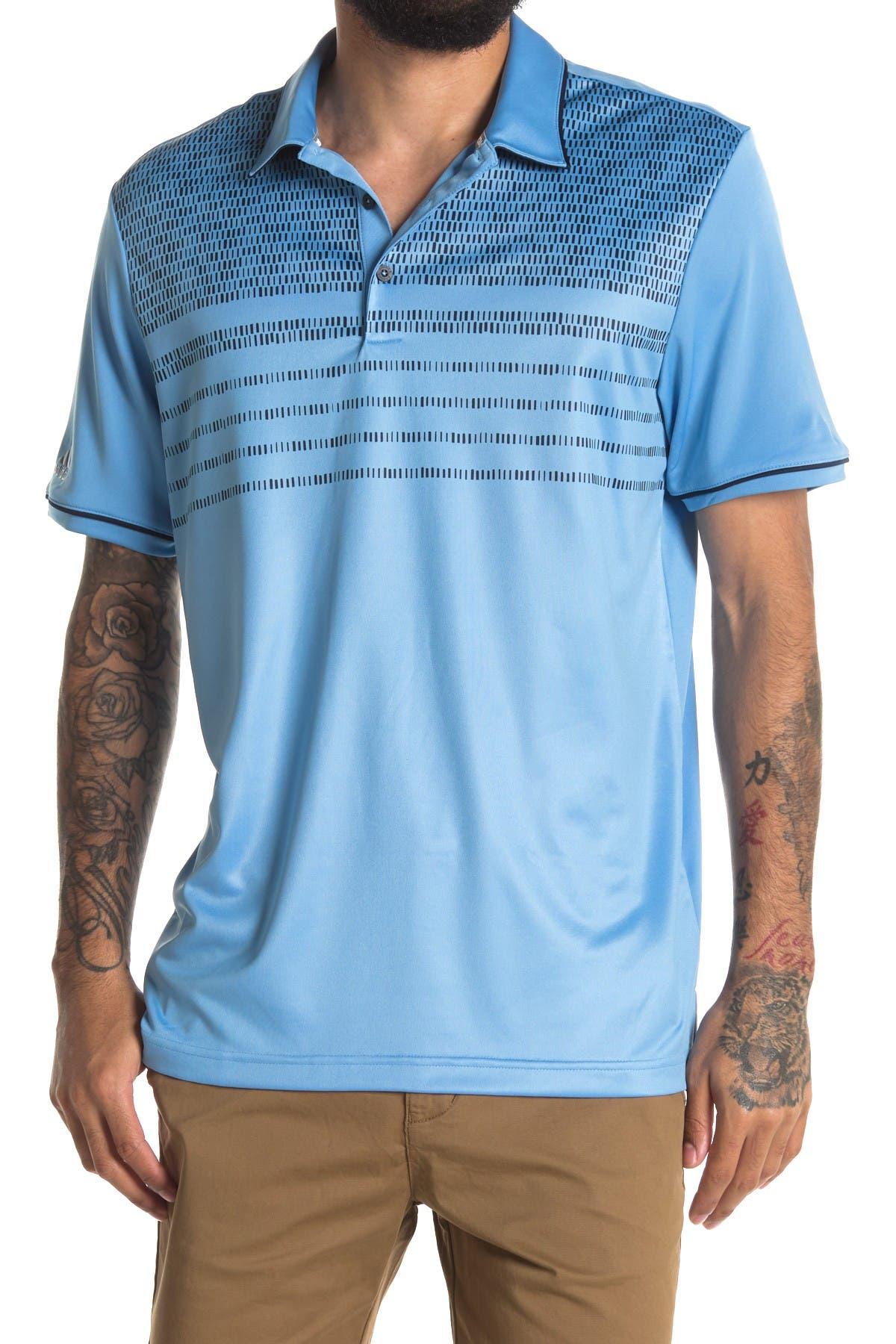 Image of Adidas Golf Core Novelty Golf Polo Shirt