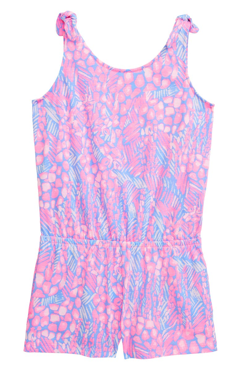 LILLY PULITZER<SUP>®</SUP> Print Cady Romper, Main, color, 678