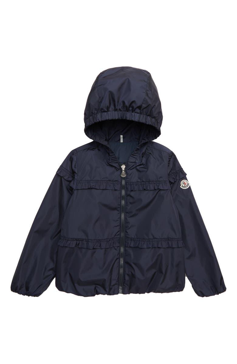 MONCLER Prague Hooded Jacket, Main, color, NAVY