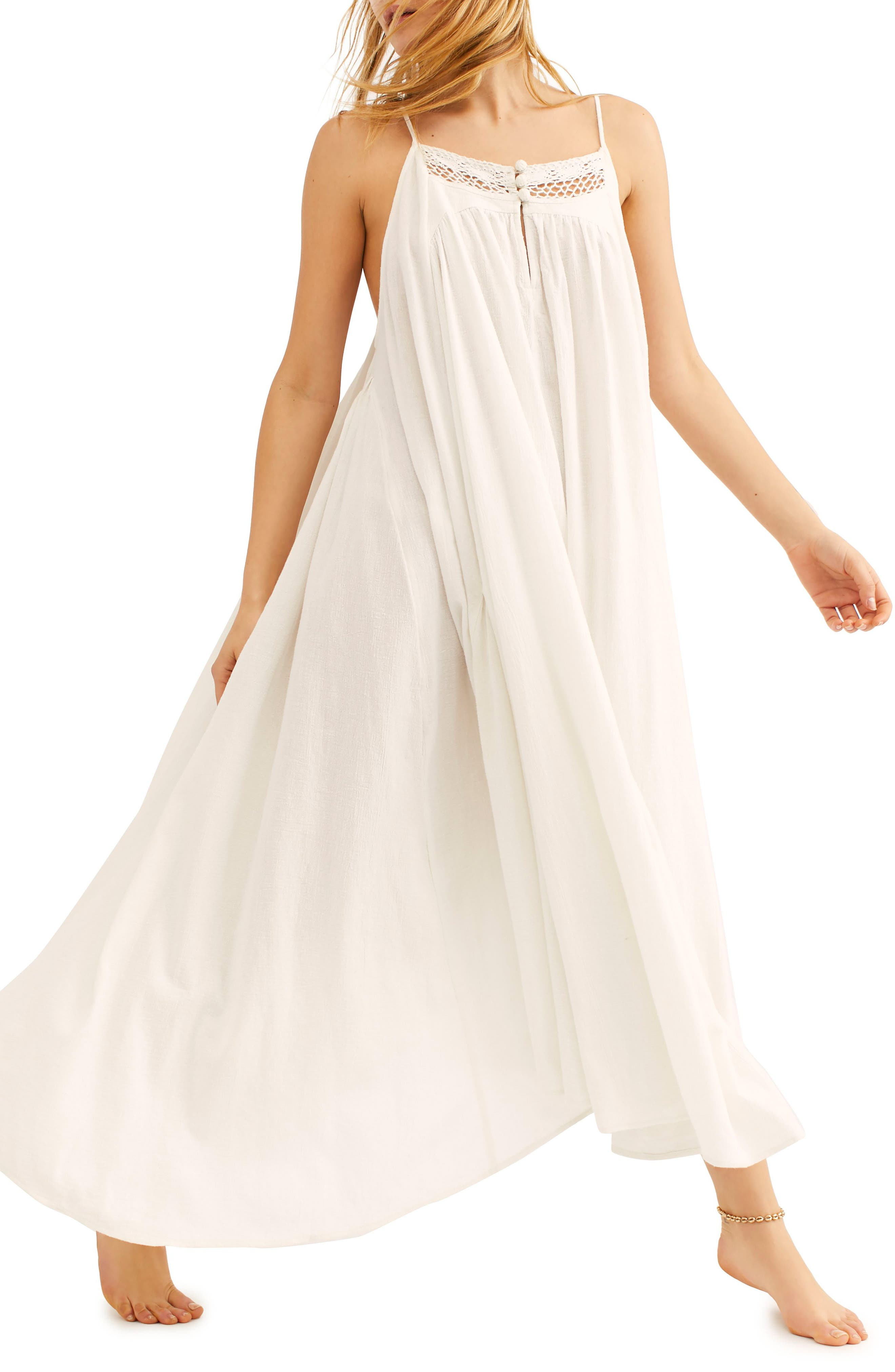 Endless Summer By Free People Mancora Maxi Dress, Ivory