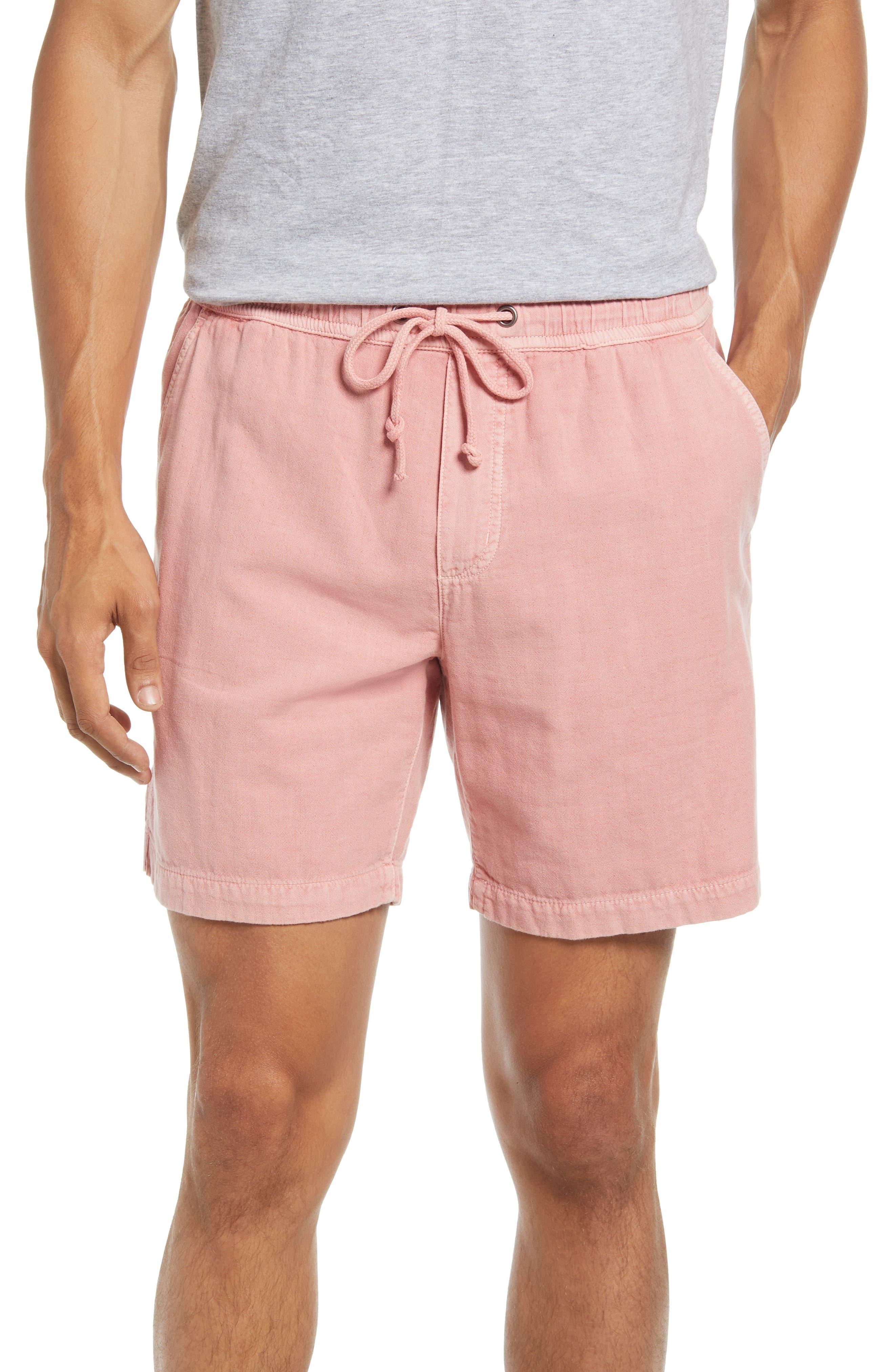 Saturday Beach Cotton Drawstring Shorts