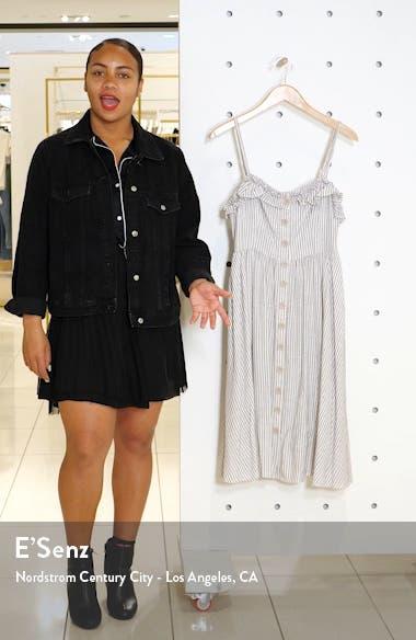 Laiche Stripe Ruffle Fit & Flare Sundress, sales video thumbnail