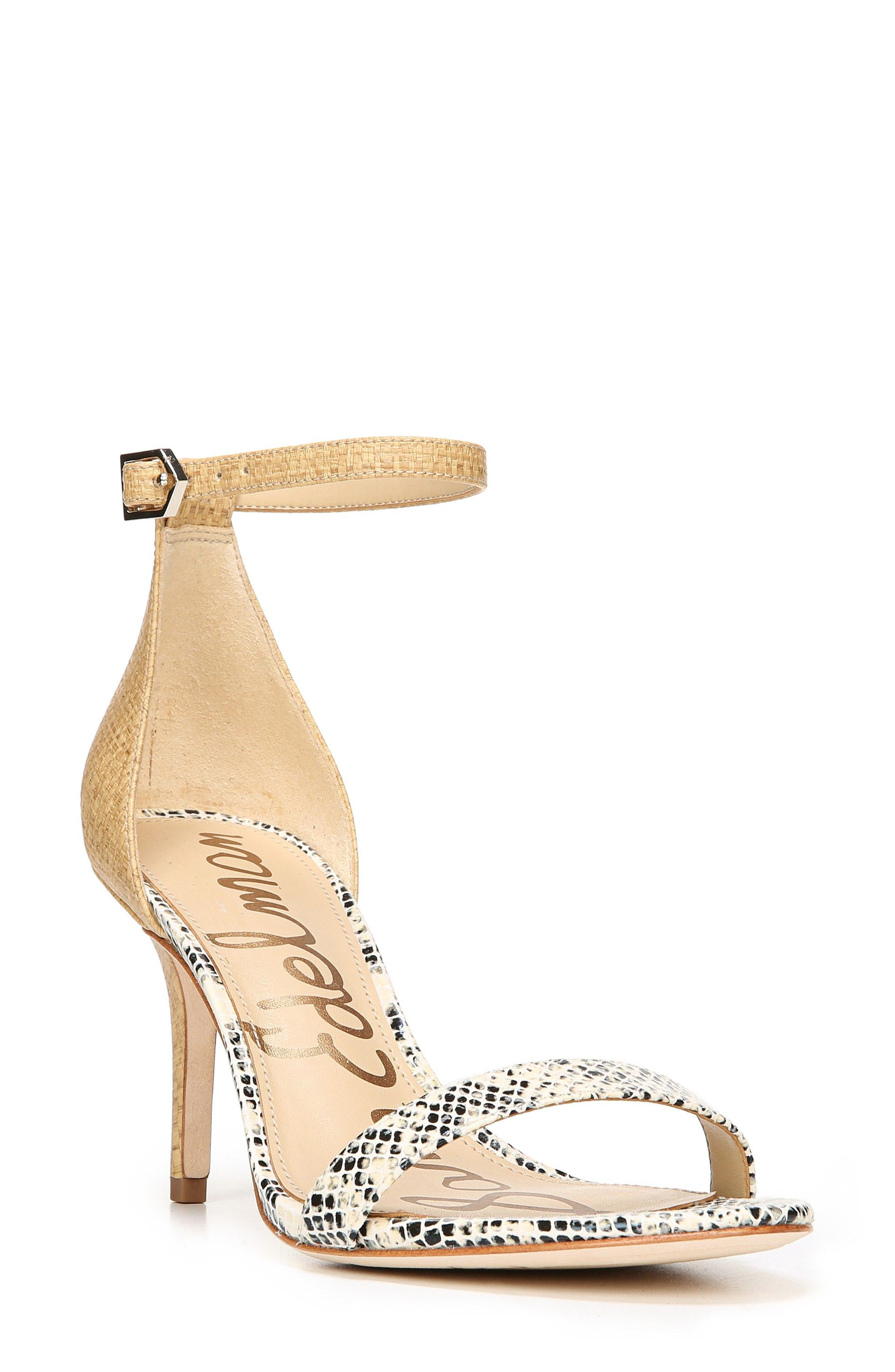 ,                             'Patti' Ankle Strap Sandal,                             Main thumbnail 174, color,                             250