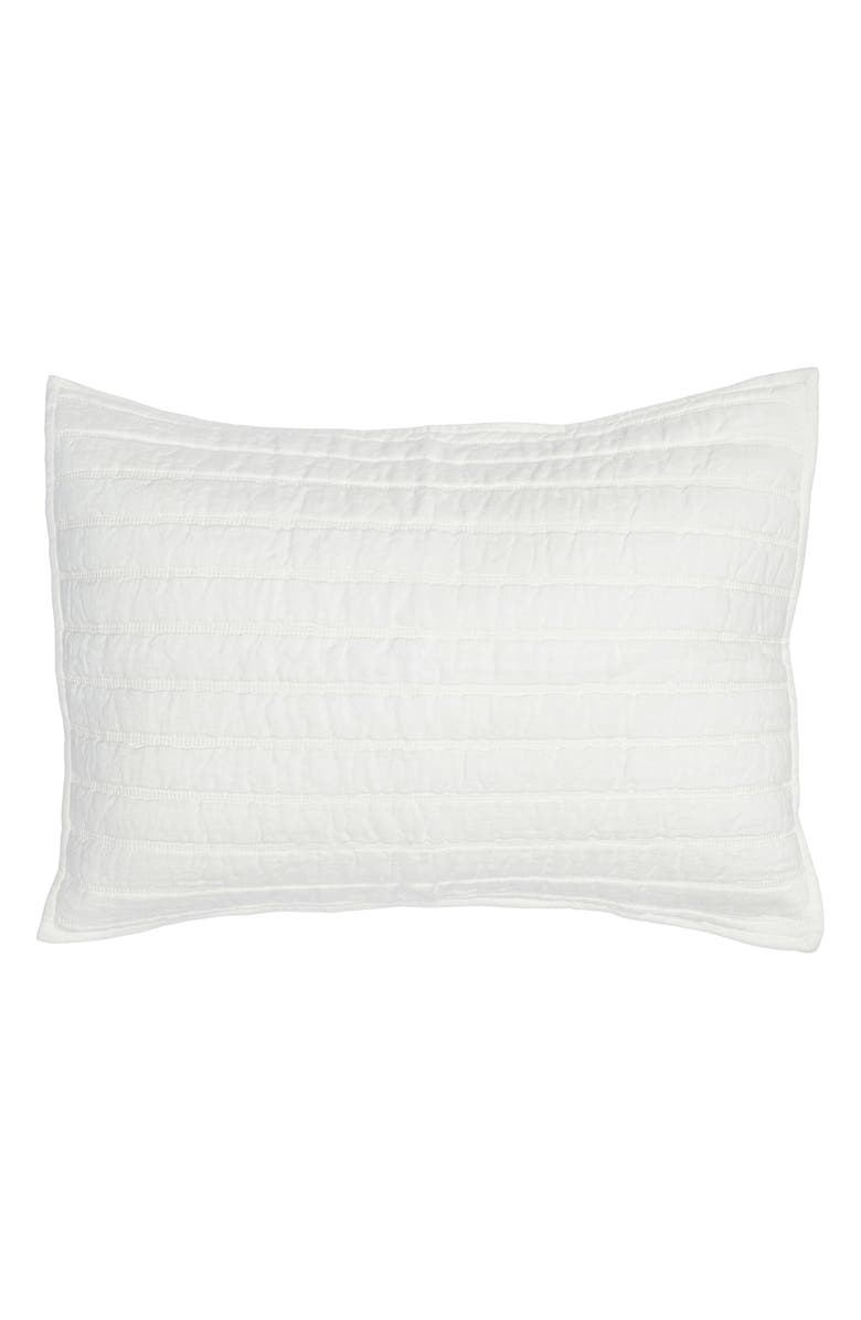VILLA HOME COLLECTION Heirloom Sham, Main, color, IVORY