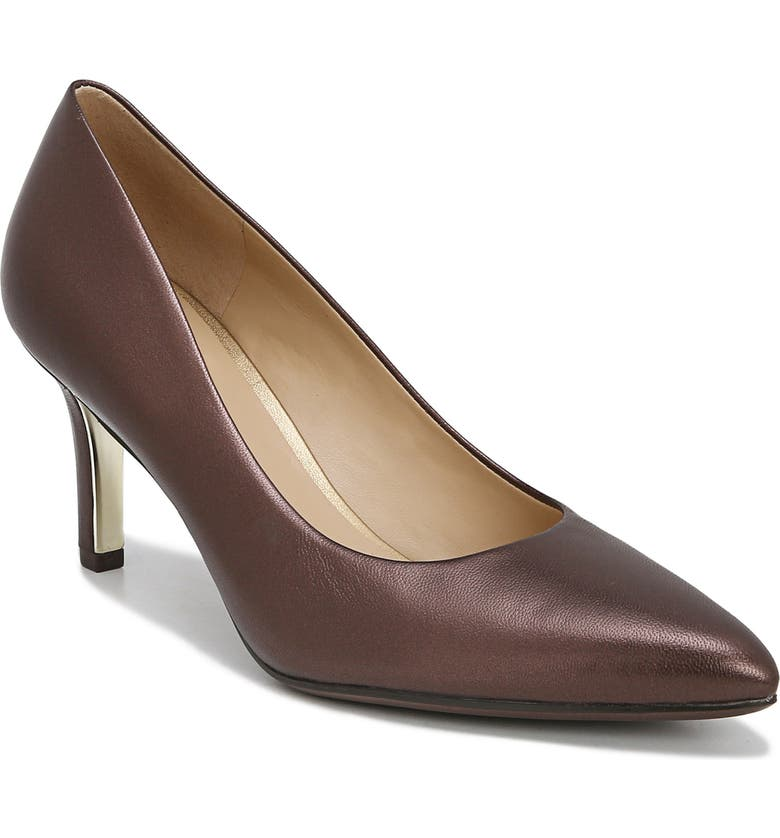 NATURALIZER Natalie Pump, Main, color, MOCHA PEARL LEATHER