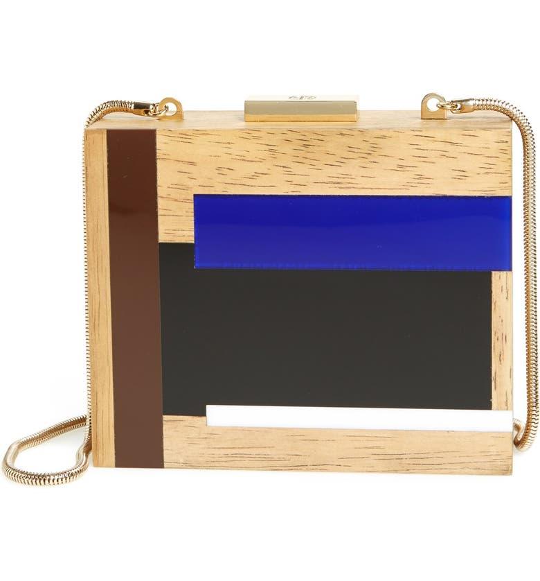 TORY BURCH 'Color Cube' Minaudiere, Main, color, 400