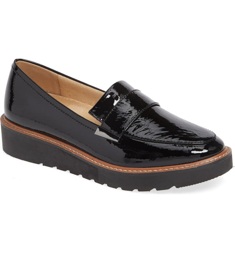 NATURALIZER Adiline Loafer, Main, color, BLACK PATENT LEATHER