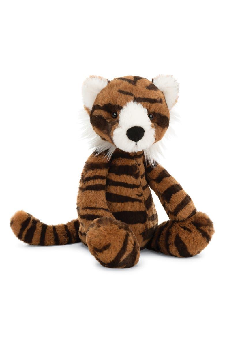 JELLYCAT Wumper Tiger Stuffed Animal, Main, color, MULTI
