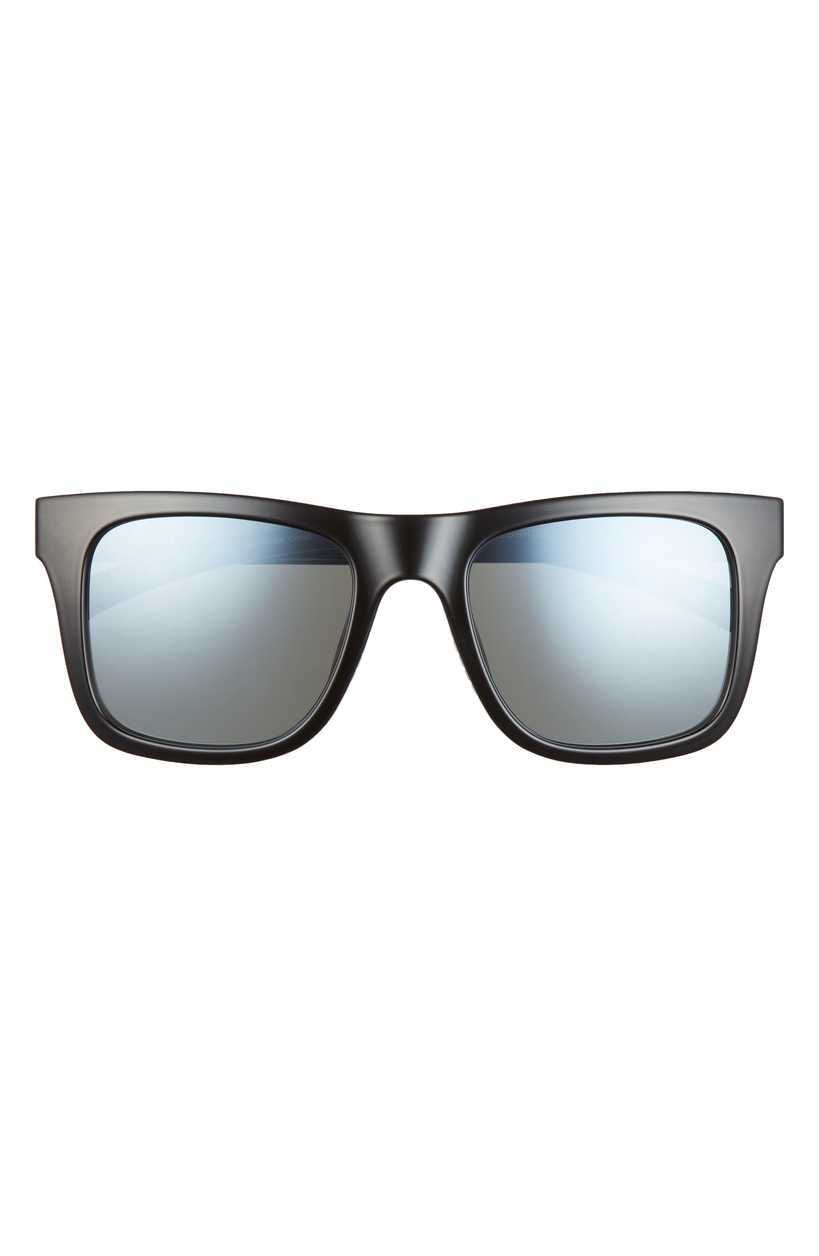 Sunrise 53mm Polarized Square Sunglasses