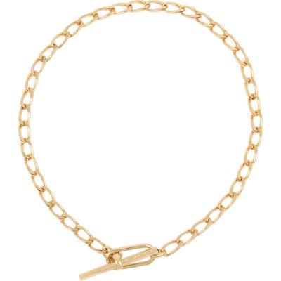 Allsaints Short Toggle Chain Necklace