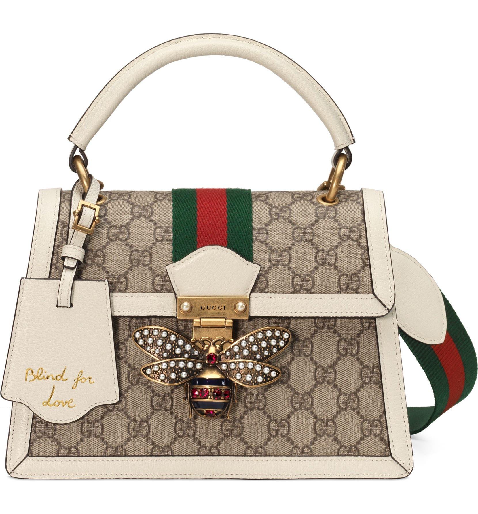 4080fe6a93d4 Gucci Queen Margaret GG Top Handle Satchel | Nordstrom