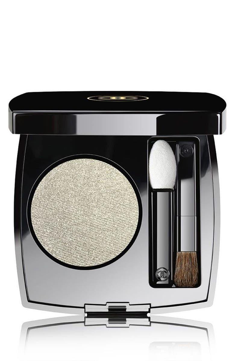 CHANEL OMBRE PREMIÈRE <br />Longwear Powder Eyeshadow, Main, color, 38 TITANE