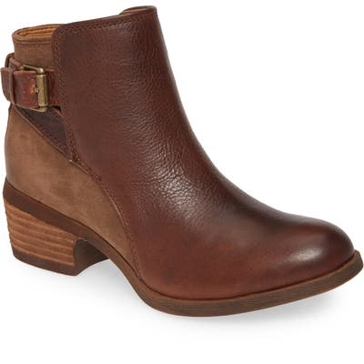 Comfortiva Creston Bootie- Brown